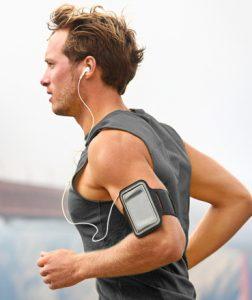 running-smartphone