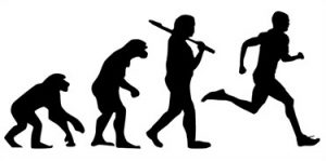runner_evolution_wall_art