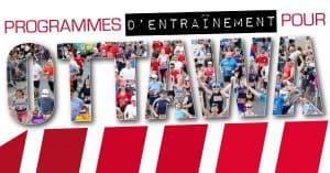 Programmes d'entraînement pour Ottawa 2017