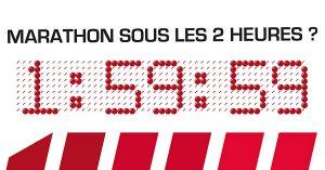Prédiction : comment l'équipe de Nike pourrait arriver à briser 2 h sur marathon