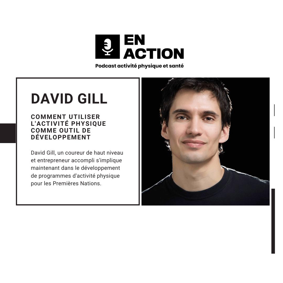 David Gill - promouvoir l'Activité physique chez les premières nations