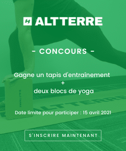 Concours Altterre tapis de yoga