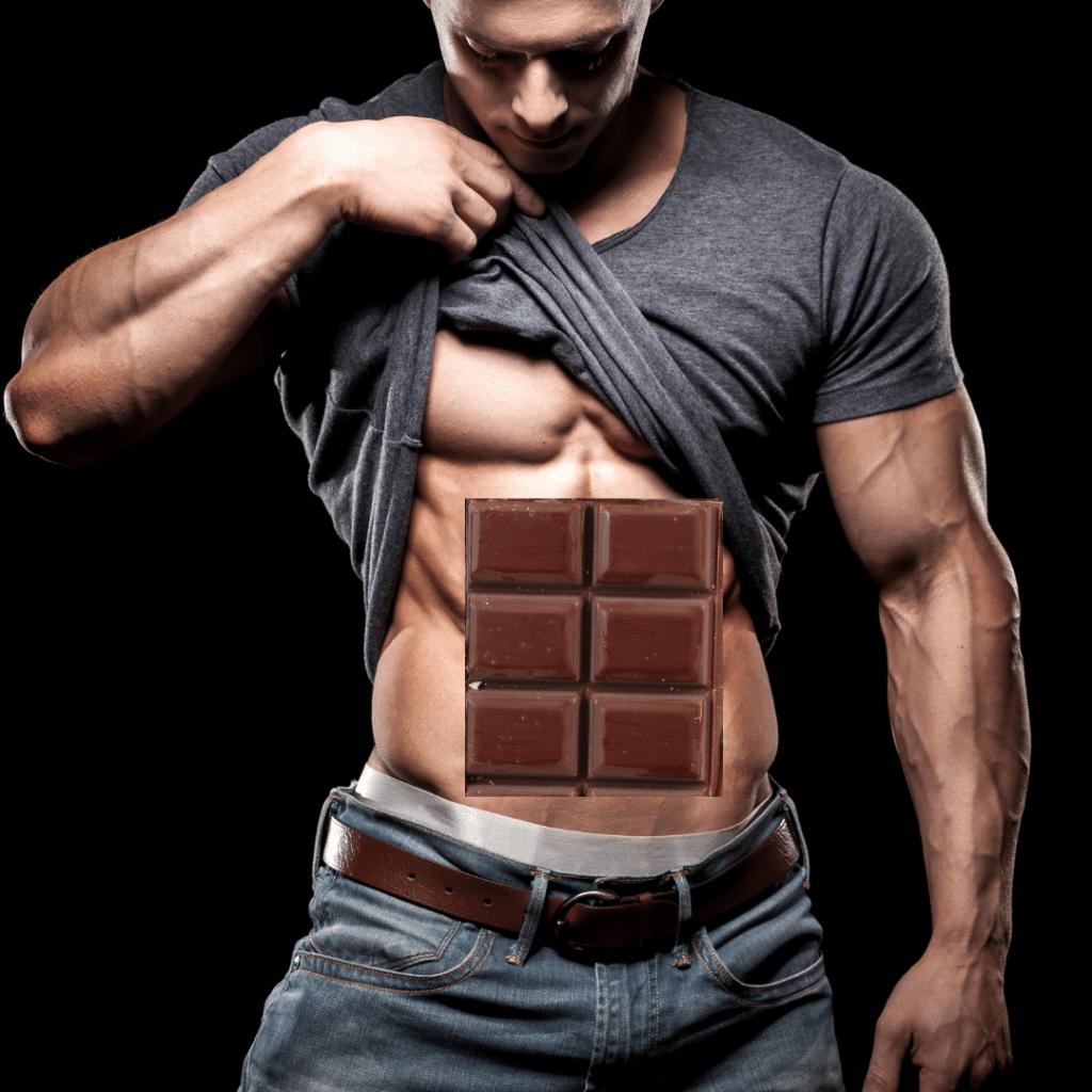 Est-ce que courir va vous donner des abdominaux qui ressemblent à une palette de chocolat?